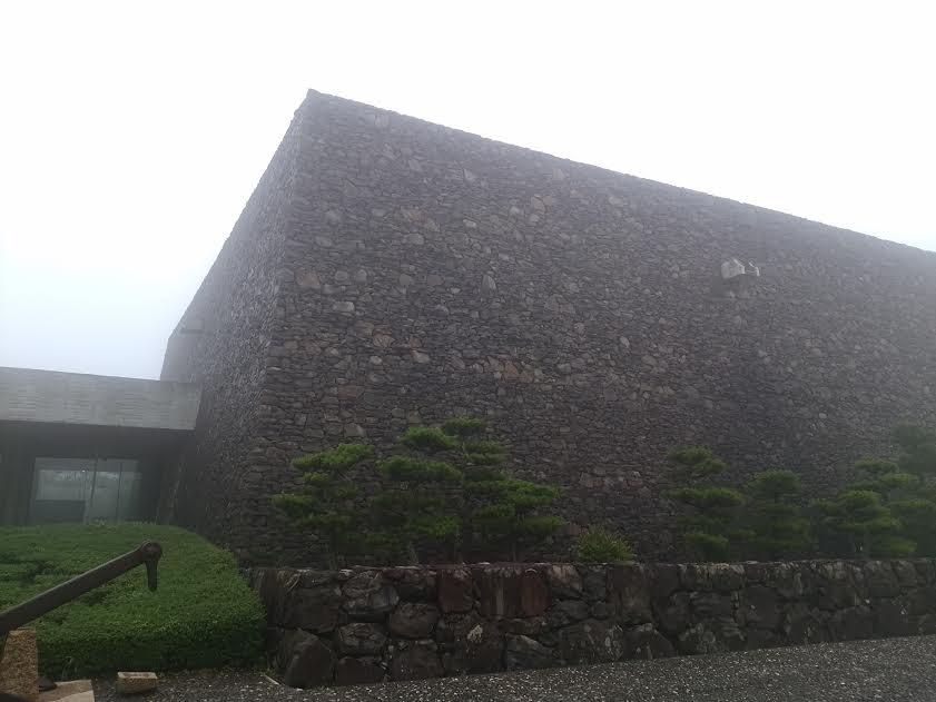濃霧の瀬戸内海歴史民俗資料館