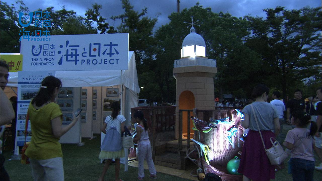 香川県-A・023-海ゴミアート点灯式-s02